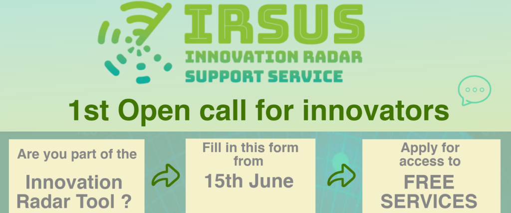 First Open Call of IRSUS